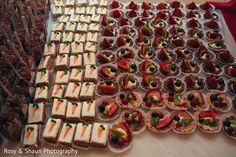 Indian wedding cake and treats http://www.maharaniweddings.com/gallery/photo/115713