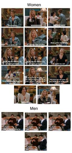 except I think our conversations would be the men version