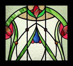 0005460 DELICIOUS ART NOUVEAU FLORAL BEAUTY