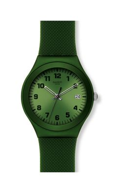 GREEN EFFECT Swatch Watch