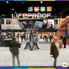 Lifeproof showcased their fun device protection products at CES. Included was their announcement of their FRĒ Power case line for larger-screened iPhones. Our design communicated the brand's spirit of action and adventure.