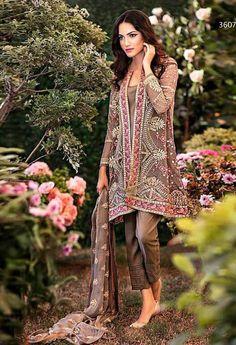 Brown Georgette Designer Salwar Kameez..@ fashionsbyindia.com #salwar #india