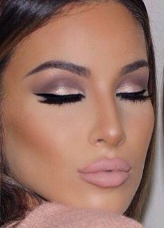 Beautiful eye make up Gorgeous Makeup, Pretty Makeup, Love Makeup, Makeup Inspo, Makeup Inspiration, Makeup Ideas, Glam Makeup, Small Eyes Makeup, Makeup 2016