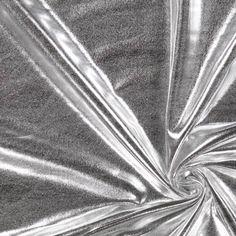 Foliojersey 12 - Polyesteri - Elastaani - hopea