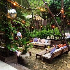 Gitano - directly across the street from Coqui Coqui and next door to Hartwood, so it's a no-brainer for dancing the night away with amazing music, stunning open setting, and solid drinks