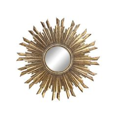 Sun Orbit Wall Mirror | dotandbo.com