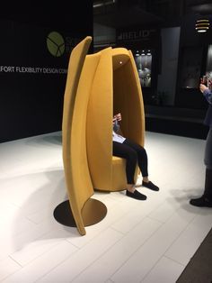 We know it as Sequester in the UK Egg Chair, Stockholm, Furniture, Home Decor, Decoration Home, Room Decor, Home Furnishings, Arredamento, Interior Decorating