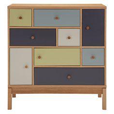 Buy Leonhard Pfeifer for John Lewis Abbeywood 6 Drawer, 3 Door Cabinet Online at johnlewis.com