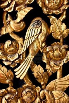 Rosamaria G Frangini Baroque, Or Noir, Black Gold Jewelry, Lesage, Touch Of Gold, Gold Rush, Bookbinding, Wood Carving, Black Backgrounds