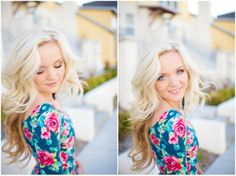 Jacki Miller Photography and Design | Seniorologie looooove her outfit! Floral print is so cute!