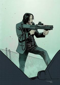 Awesome Art Around The Net: John Wick
