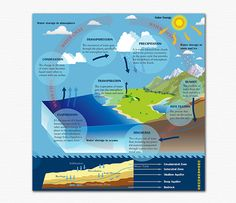 Graphic Design - Water Cycle System on Behance