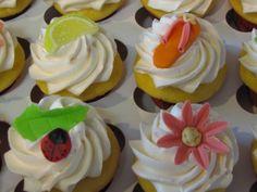 Lemony summer cupcakes