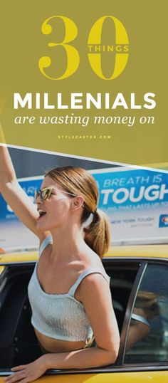 30 things twenty-something's need to STOP wasting their money on. Check out this amazing money-saving list.