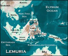 The legendary lost continent of Lemuria http://simon-rose.com/books/the-doomsday-mask/historical-background/