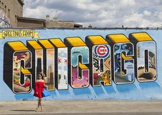 Guide to the best murals in Chicago! via Style Charade