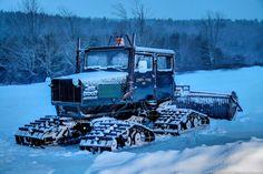 Snow Cat | Walt Felix #tractor #snowcat