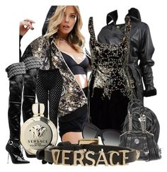 """versace"" by miha-jez ❤ liked on Polyvore featuring Versace"