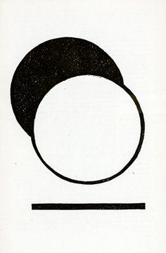 """garadinervi: """"Herbert Bayer, Die Scheibe (bk w/1 work), 1924 """""""