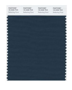 Pantone 19-4326 TCX Smart Color Swatch Card, Reflecting Pond - Amazon.com