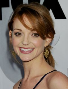 Ditching the summer bleach blonde with help from Trevor Sorbie Brighton to create a warm winter shade a la Jayma Mays