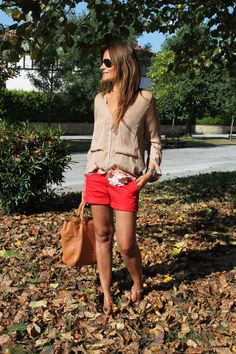 Red Shorts by Spagnolo