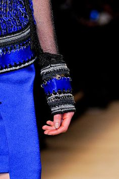 Paco Rabanne Fall 2012 - Details