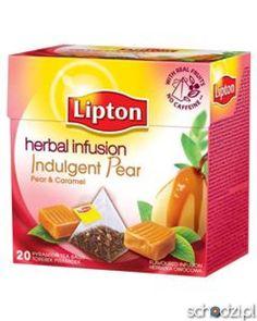 Herbata Lipton Gruszka i Karmel ekspresowa 20t - Schodzi.pl