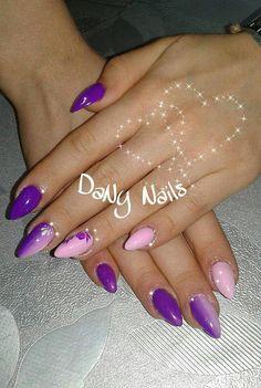 viola fluo rosa barbie shade fiori