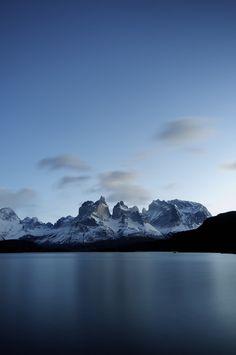 beautiful / lake and mountains