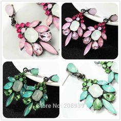 Cheap Gorgeous aro mujeres de moda rosa / verde pendientes recién llegado de marca de metal dulce con…