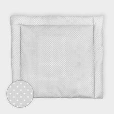 Wickelauflage – weiße Punkte auf grau 34 Euro by KraftKids