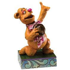 Disney Traditions designed by Jim Shore for Enesco Fozzie Bear The Muppet Show Figurine 625 IN *** Check this awesome product by going to the link at the image.
