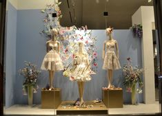 Our Spring window display! Love the butterflies!