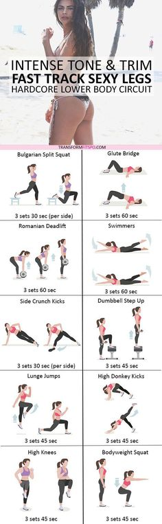 #womensworkout #workout #femalefitness Repin and share if this workout gave you sexy legs! Click the pin for the full workout.