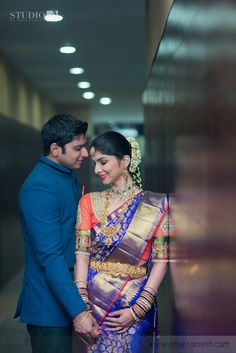Best site to plan a modern Indian wedding, WedMeGood covers real weddings… South Indian Weddings, South Indian Bride, Indian Bridal, Kerala Bride, Hindu Bride, Indian Wedding Couple, Indian Bride And Groom, Wedding Photoshoot, Wedding Poses