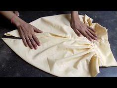 Dhoti salwar cutting and stitching video in hindi - YouTube