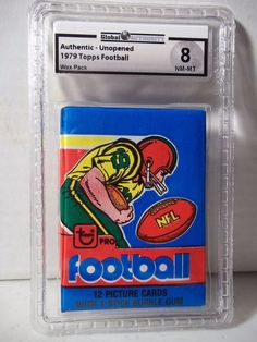1979 Topps NFL Football Wax Pack GAI NM-MT 8 Possible Earl Campbell Rookie Card #NFLCollectible