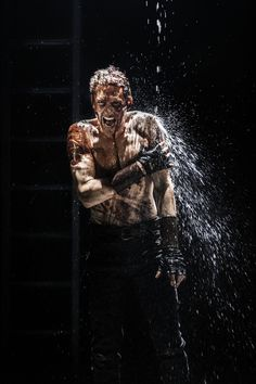 Here's Tom Hiddleston As The Bloody, Vengeful Hero Of Your Dreams | Click through to see ginormous images of #TomHiddleston in Coriolanus.