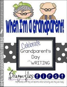 WHEN I'M A GRANDPARENT - GRANDPARENT'S DAY WRITING ACTIVITY - TeachersPayTeachers.com