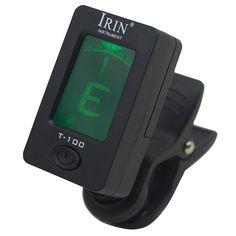 HOT IRIN 360 Degree Rotate Digital Chromatic Bass Ukelele Electronic Guitar Tuners