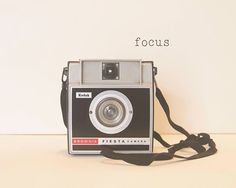 Vintage Camera Focus Kodak Brownie Fiesta by ShadetreePhotography, $30.00