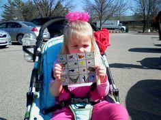 The Iowa Farmer's Wife: Zoo Bingo/backyard bingo, etc