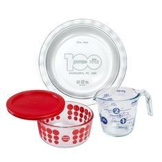 Pyrex 100 100th Anniversary 4 Piece Centennial Collector Set *** You can find out more details at the link of the image.