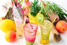 店内ショーケースに並ぶ季節のフルーツを贅沢に使用したフルーツサワーも楽しめる六本木MEZZO(メゾ)