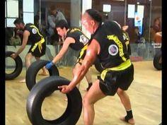 SanDa   Training Fighter      GranMaster Senna y ShiFu Paty Lee