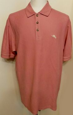 Tommy Bahama Mens Shirt Marlin Polo Wild Ginger Pima Cotton Short Sleeve Size XL #TommyBahama #MarlinPolo