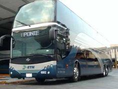 Autobus ejecutivo de dos pisos Enlaces Terrestres Nacionales ETN Ayats B...