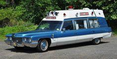 1972 Cadillac Superior ambulance