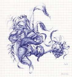 20 Awesome and Beautiful art in Ballpoint pen drawing Ballpoint Pen Drawing, Ink Pen Drawings, Biro Art, Pen Design, Art Google, Gallery, Awesome, Illustration, Beautiful
